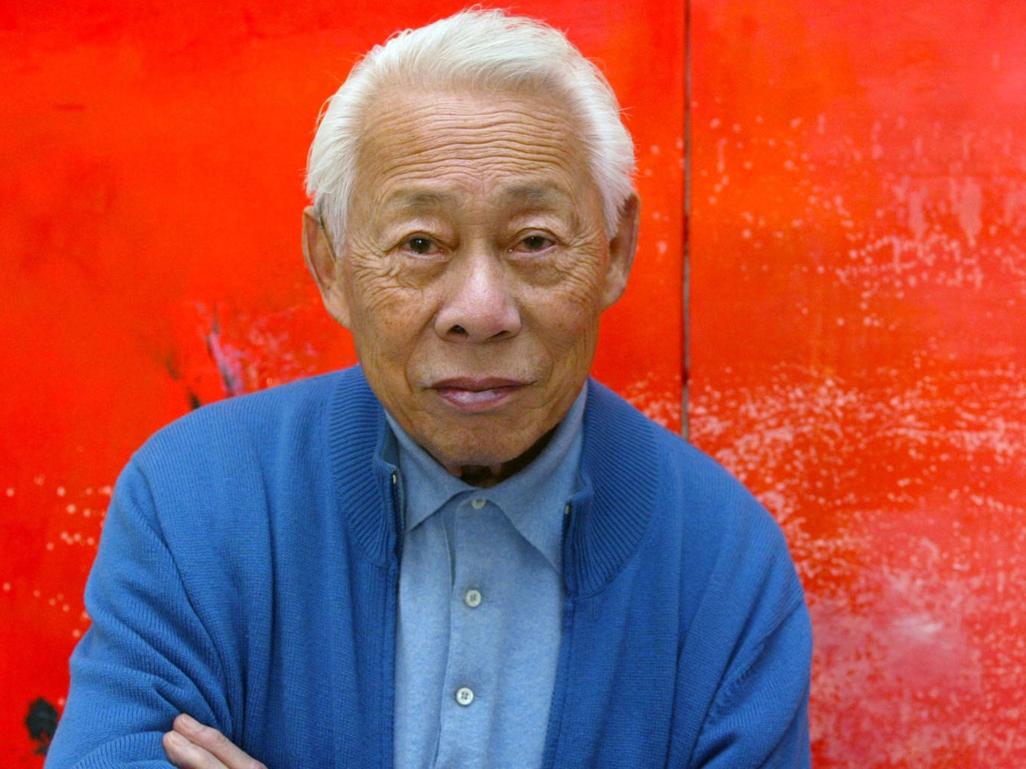 Zao Wou-Ki: Artist whose work combined Oriental landscapes and Western abstraction | The Independent