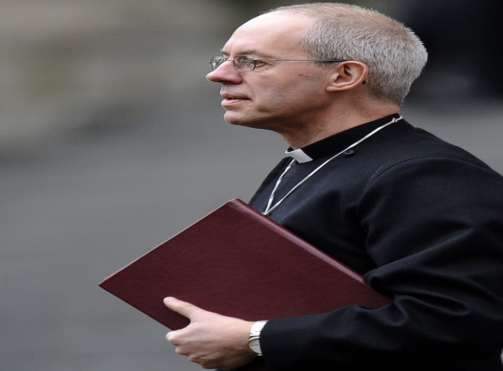 Archbishop of Canterbury, Justin Welby, has given his backing to heterosexual couples who want to enter civil partnerships