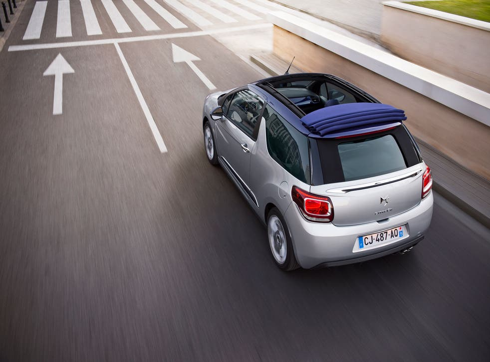 The new DS3 Cabrio is thoroughly French - and thoroughly likeable