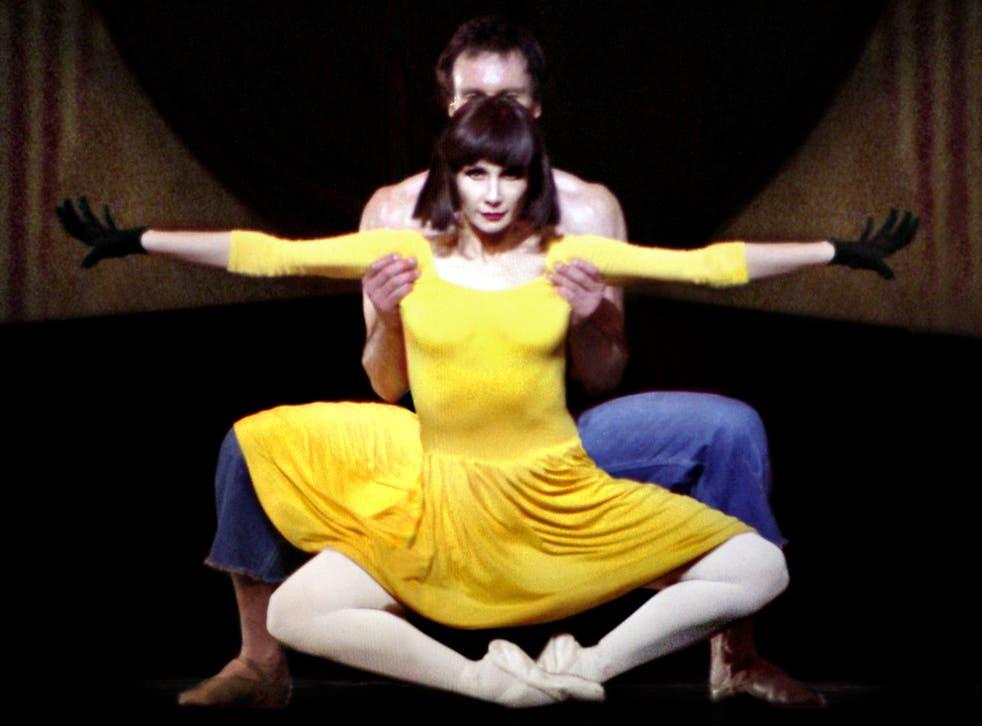Dance of death: Nicolas Le Riche supports Tamara Rojo in Le Jeune Homme et la Mort