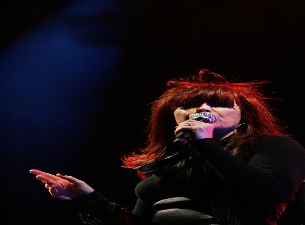 Chrissy Amphlett of the Divinyls who died aged 53