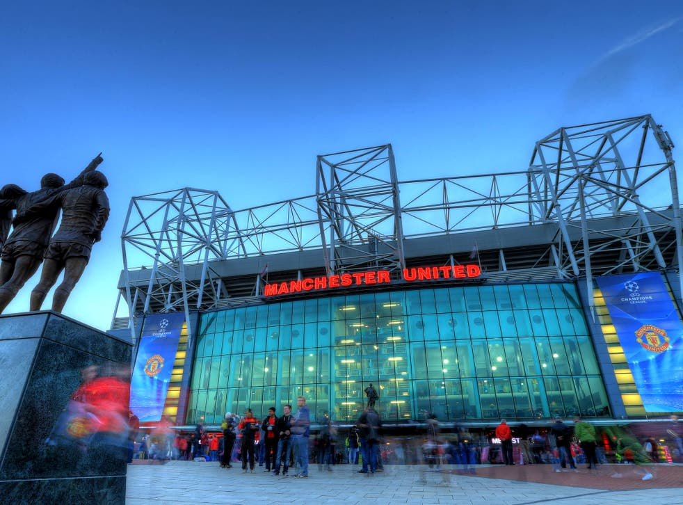 A view outside Old Trafford
