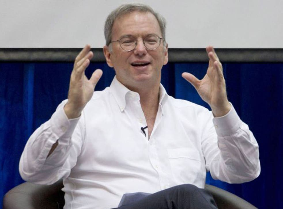 Eric Schmidt says Google will comply with the law if it changes