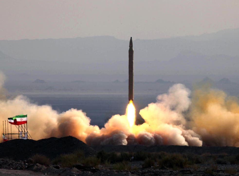 The test firing at an undisclosed location in Iran of a surface-to-surface Qiam missile
