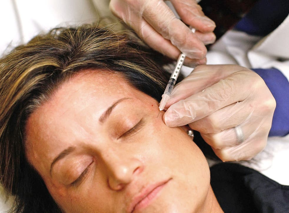 Nine out of 10 cosmetic procedures are non-surgical treatments such as Botox injections