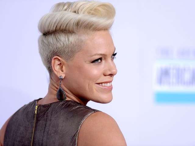 <p>Pink named UK's most played female artist of the 21st century  </p>