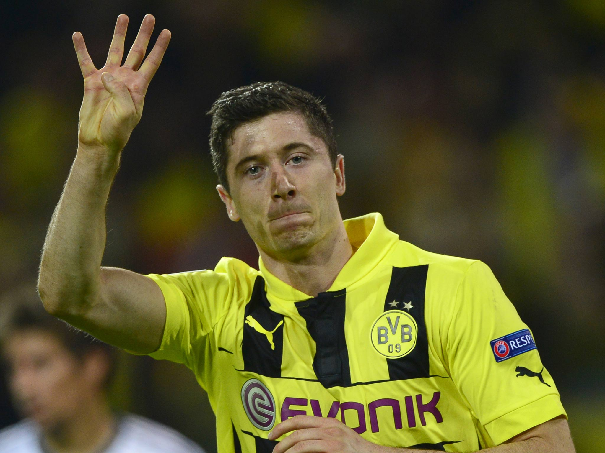 By refusing to sell Robert Lewandowski to Bayern Munich, Borussia Dortmund keep their best striker and their dignity - at least for another 12 months | The Independent | The Independent