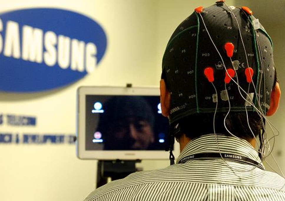 Introducing the mind control mobile: Samsung says it is