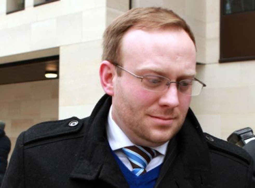 Former police sergeant James Bowes who is facing jail after admitting selling information to The Sun newspaper
