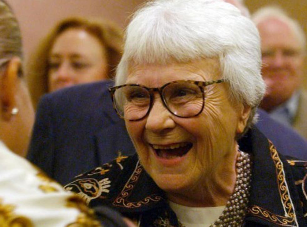 """Harper Lee, author of To Kill a Mockingbird, is listed as an """"American woman novelist"""" on Wikipedia"""