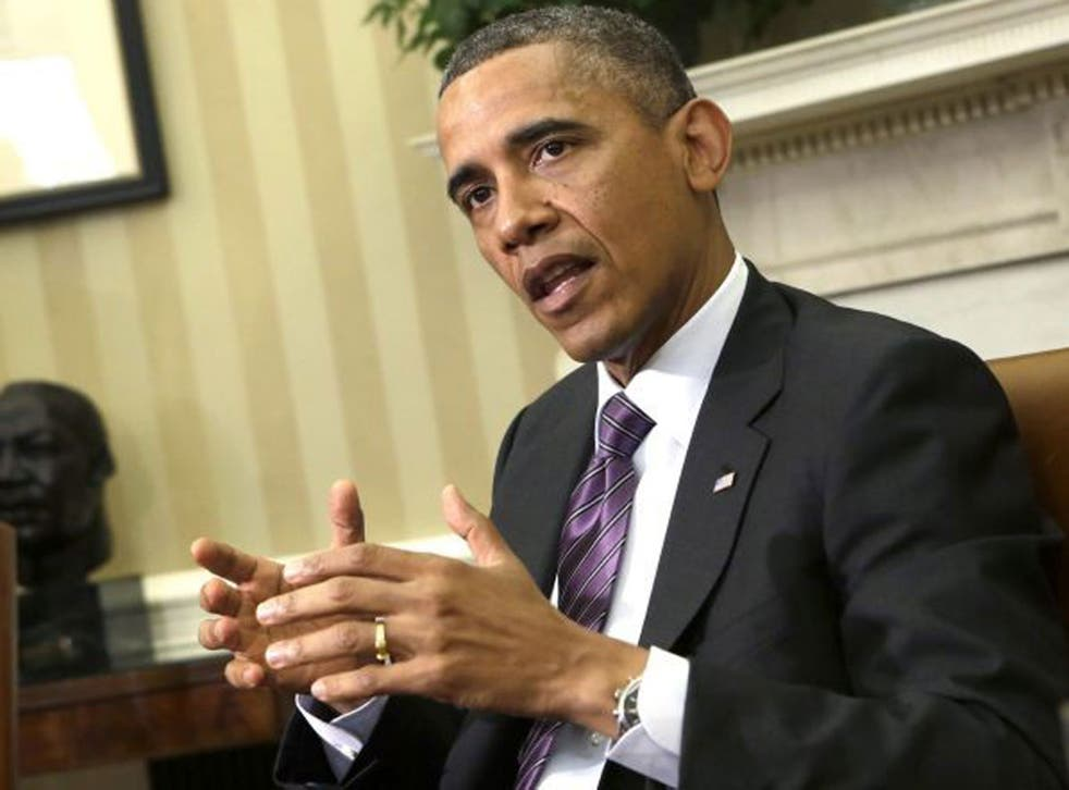 President Obama insists alleged Syrian chemical attacks would still be a 'red line'