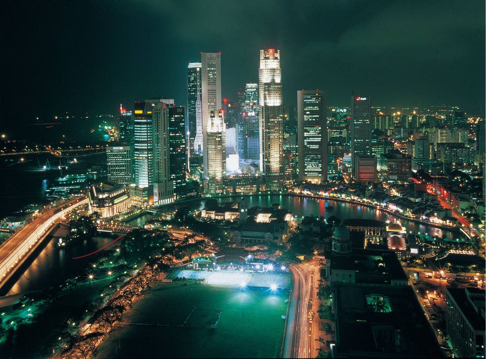 Sky high: Singapore has been named the world's most expensive city to live in