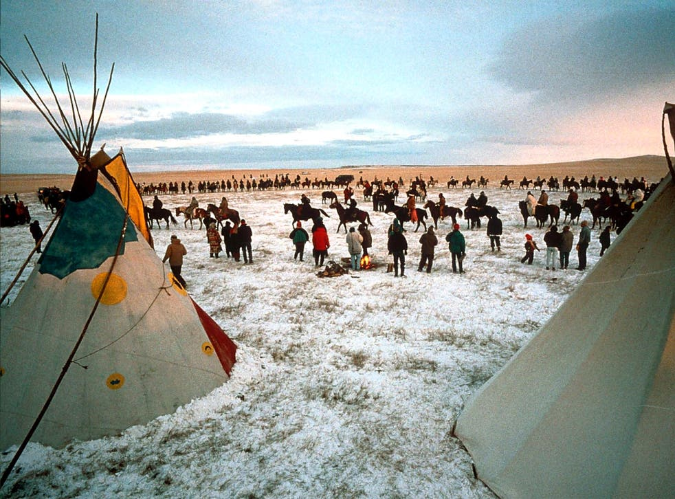 The historic home of the Lakota Indians