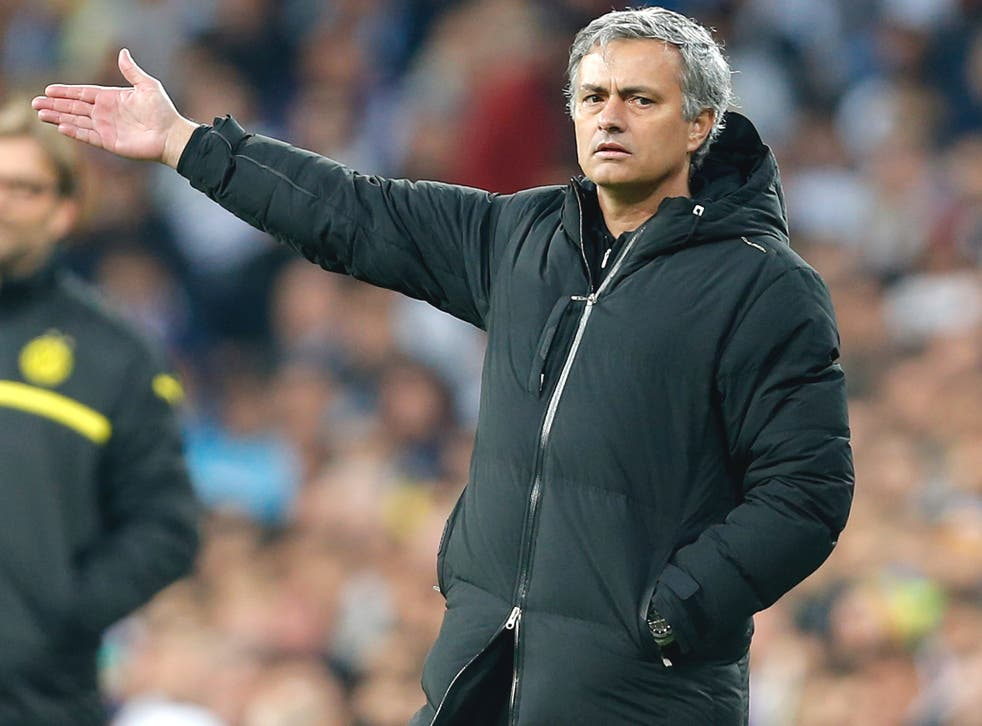 Mourinho watches on as his Real Madrid side failed to overturn the three-goal deficit