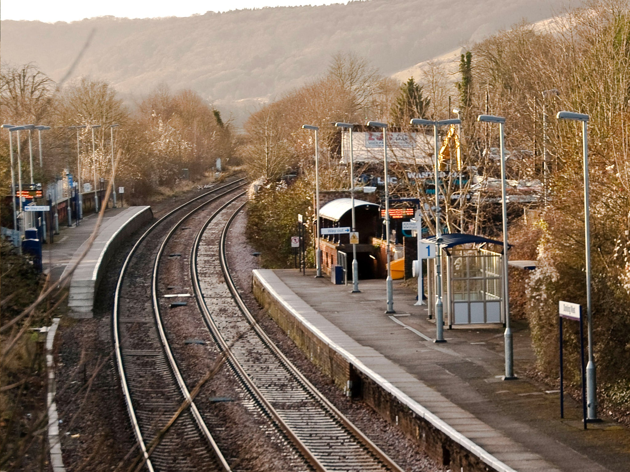 britain s ghost trains the deserted railway stations without any