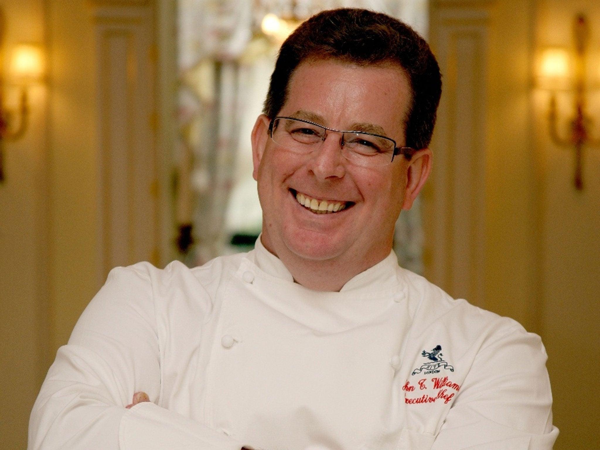 My life in food John Williams executive chef The Ritz
