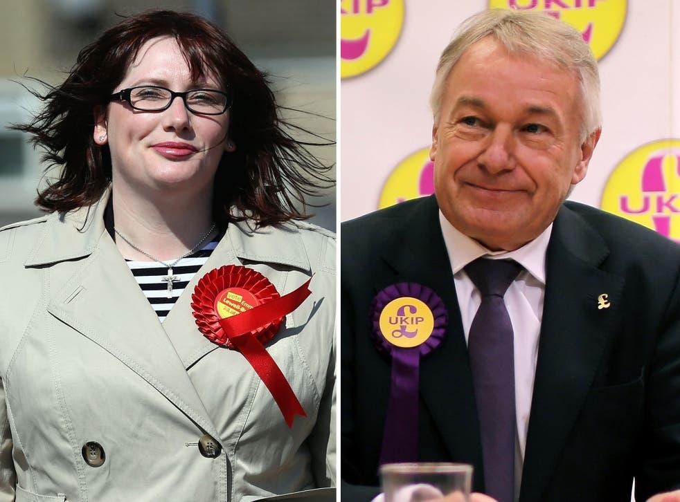 Labour candidate Emma Lewell-Buck beat UKIP candidate Richard Evlin