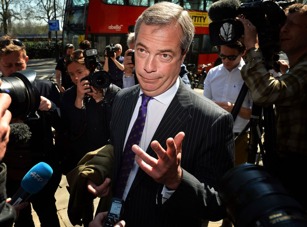 Waving and drowning: Nigel Farage's local council success will not carry through to the next general election