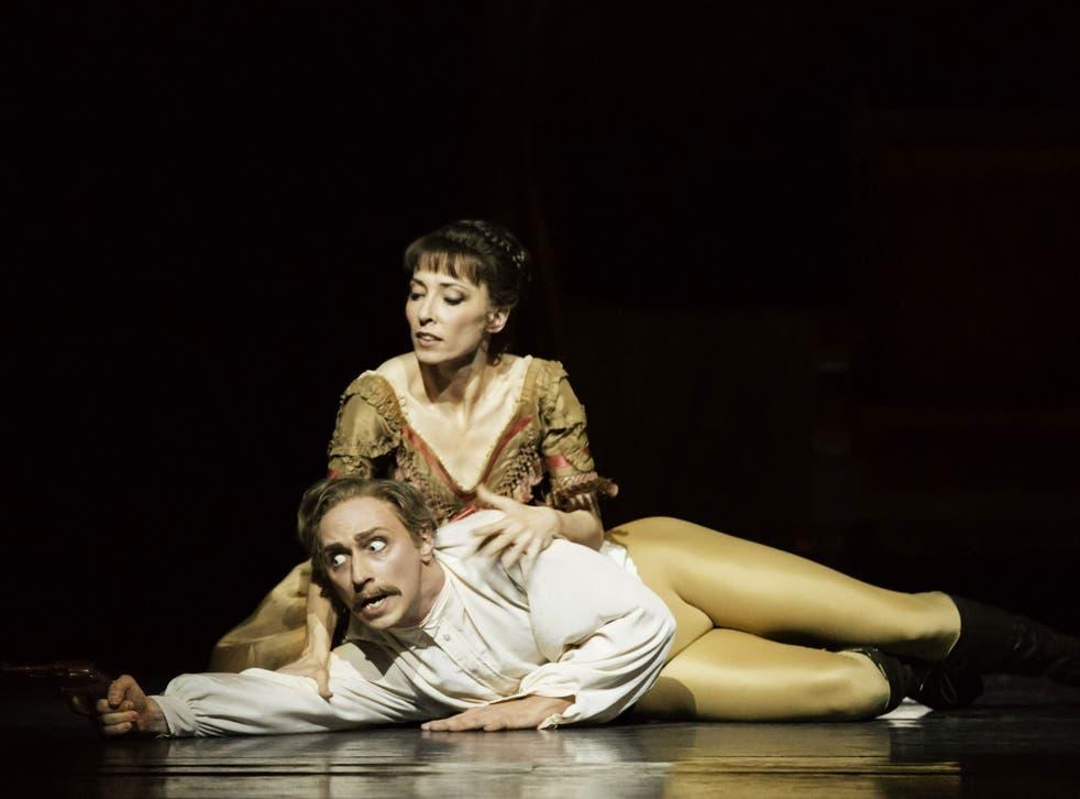 Death wish: Bennet Gartside as Crown Prince Rudolf and Mara Galeazzi as Mary