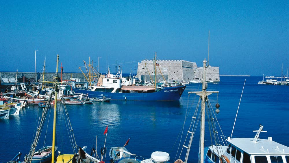 Crete: 'We could be a family two centuries ago     apart