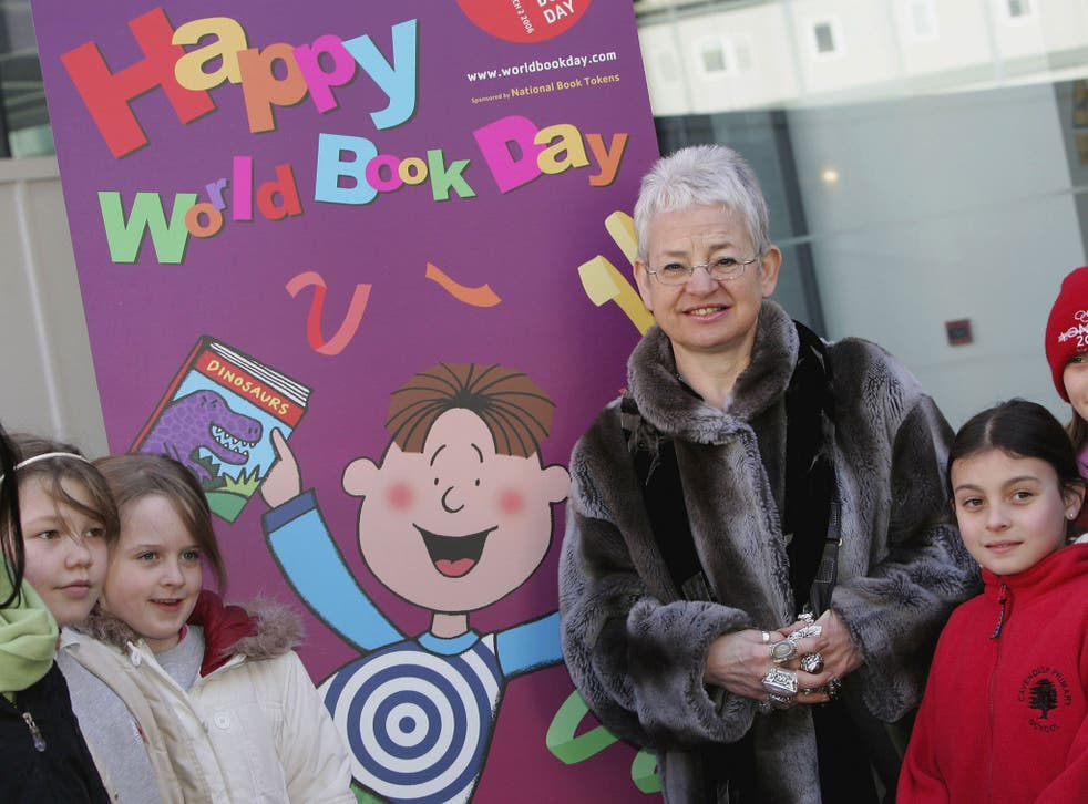 Jacqueline Wilson said most children can not spell her name correctly