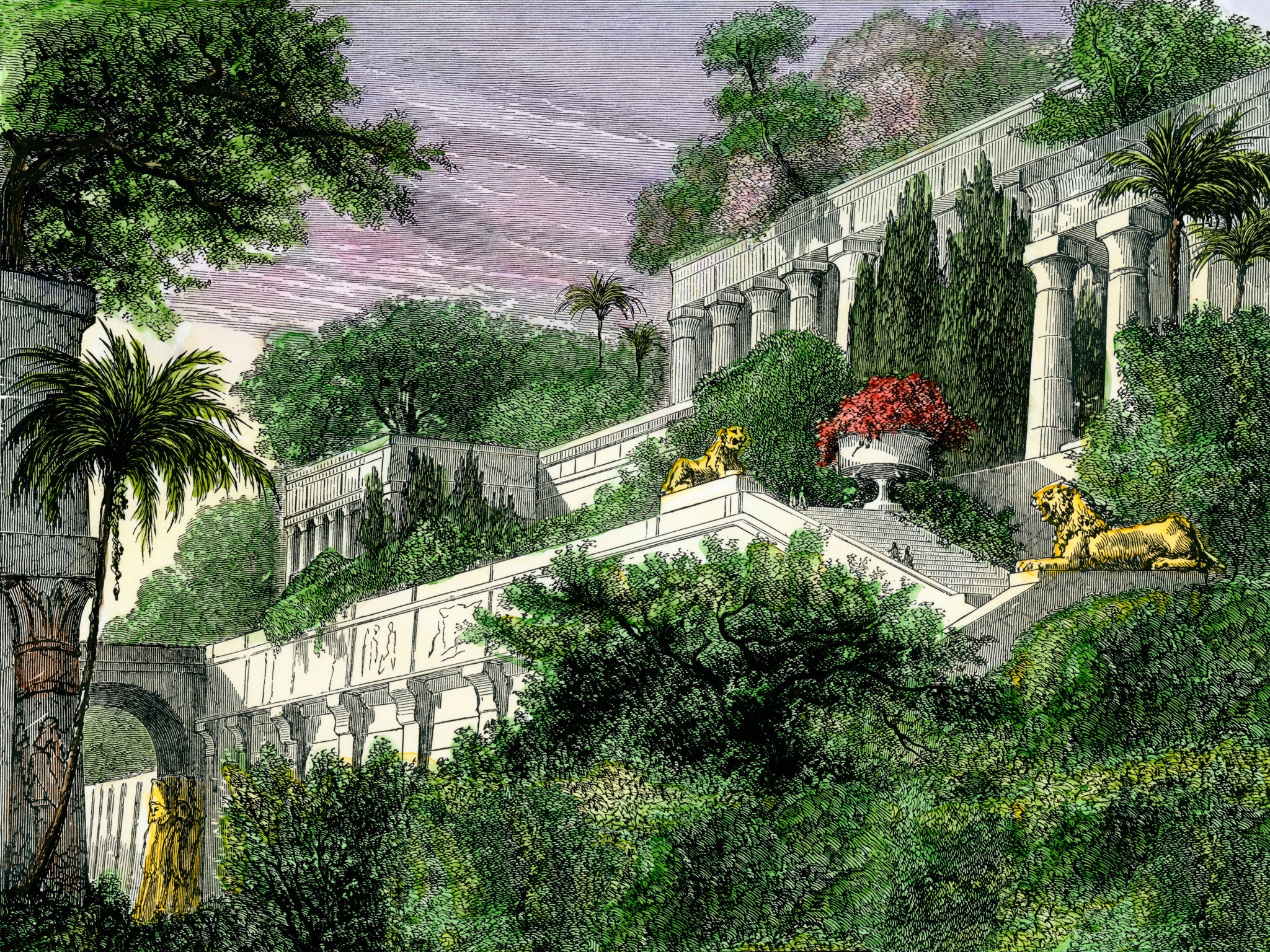 The Biggest Wonder About The Hanging Gardens Of Babylon They Weren T In Babylon The Independent