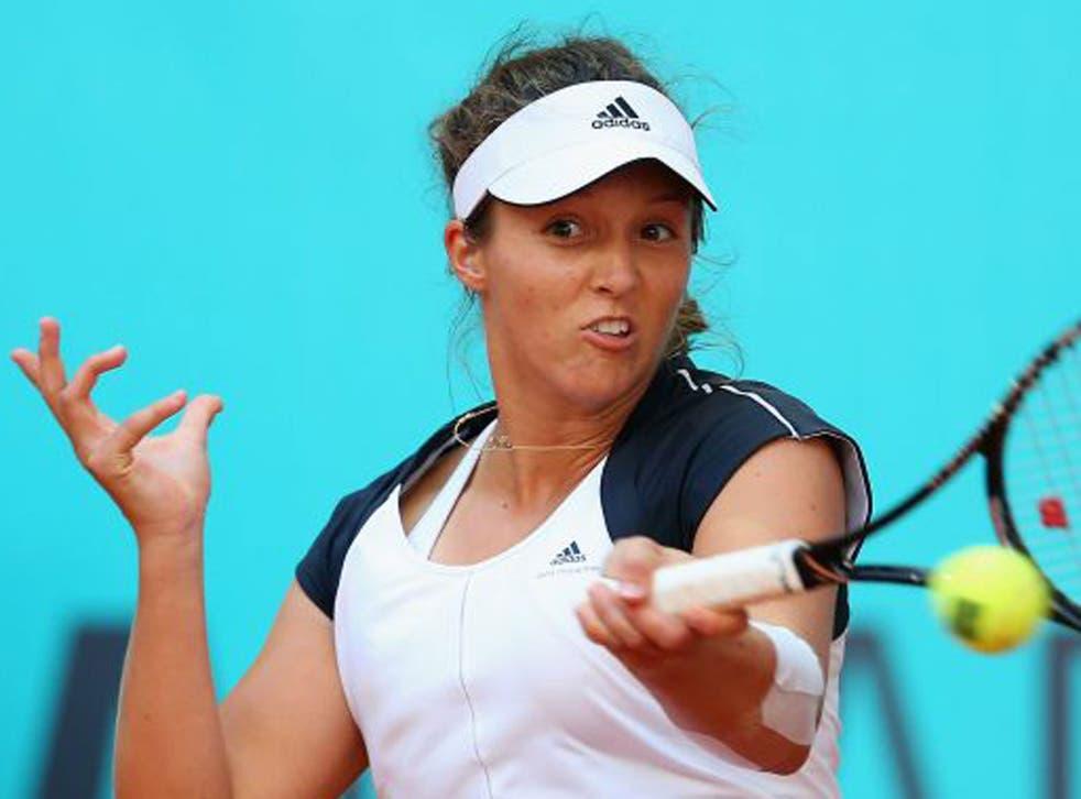 Laura Robson had won just two matches in six tournaments before beating Rybarikova