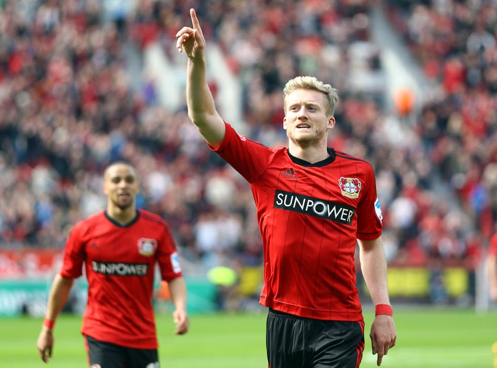 Leverkusen star André Schürrle is set to sign for Chelsea
