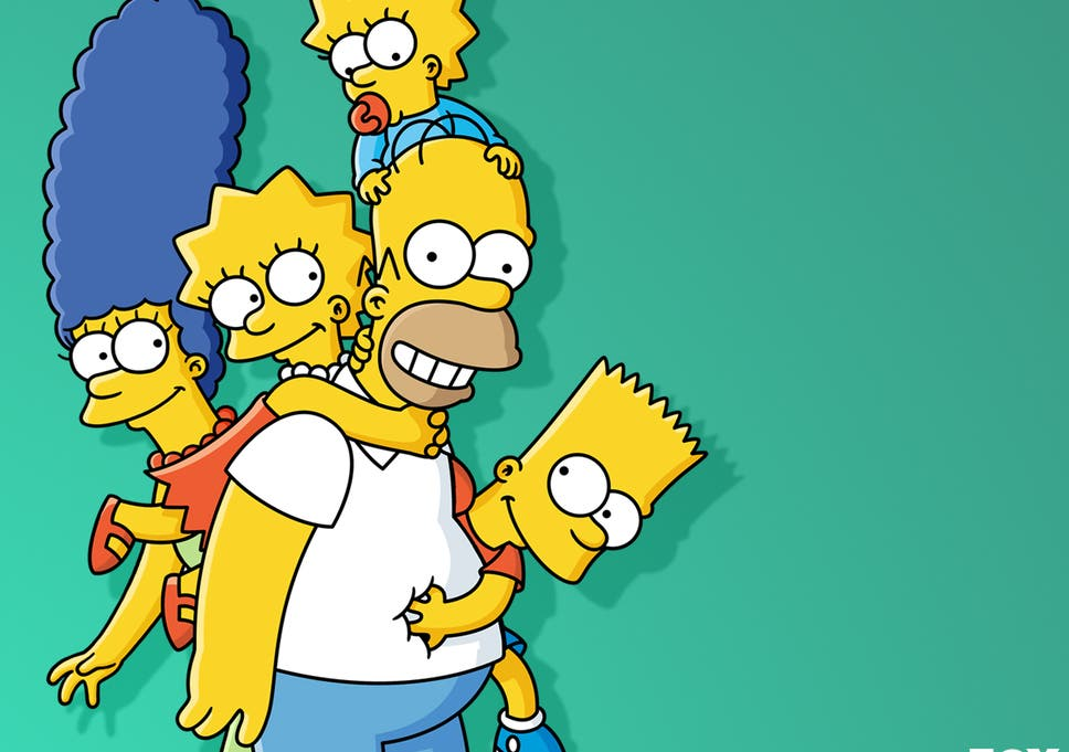 the simpsons maggie older