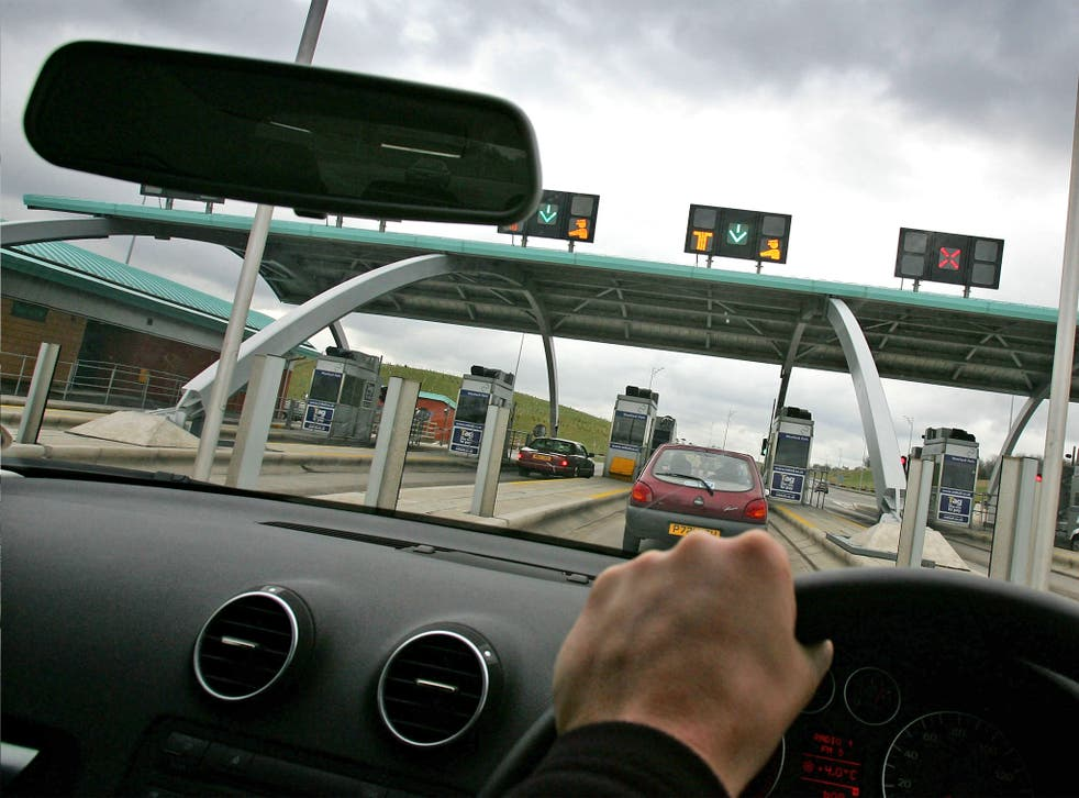 The M6 toll route is marginally longer than the free motorway
