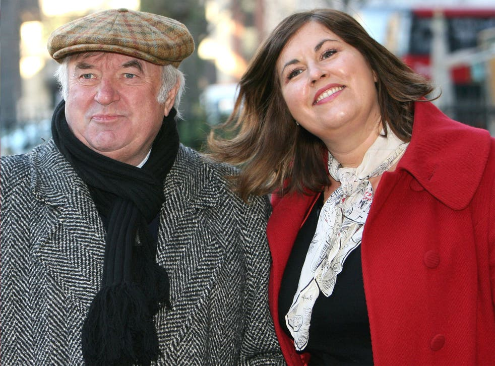 Jimmy Tarbuck with his daughter, TV presenter Liza, in 2007