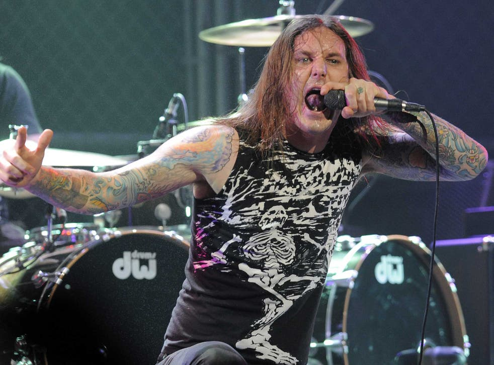 Tim Lambesis, lead singer of As I Lay Dying