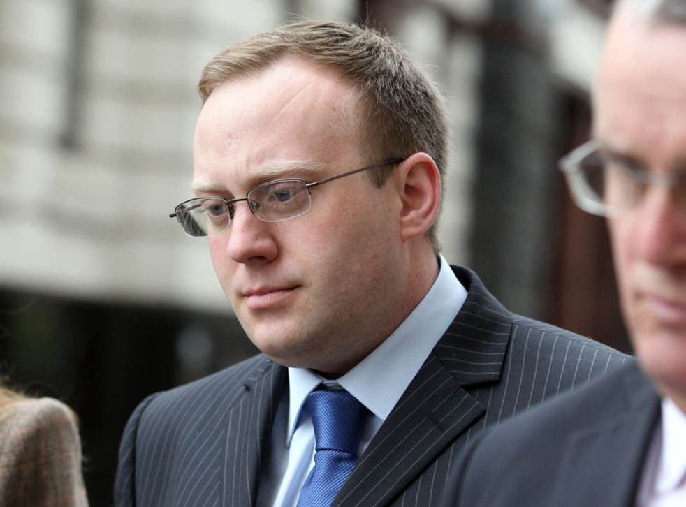 James Bowes arrives at the Old Bailey