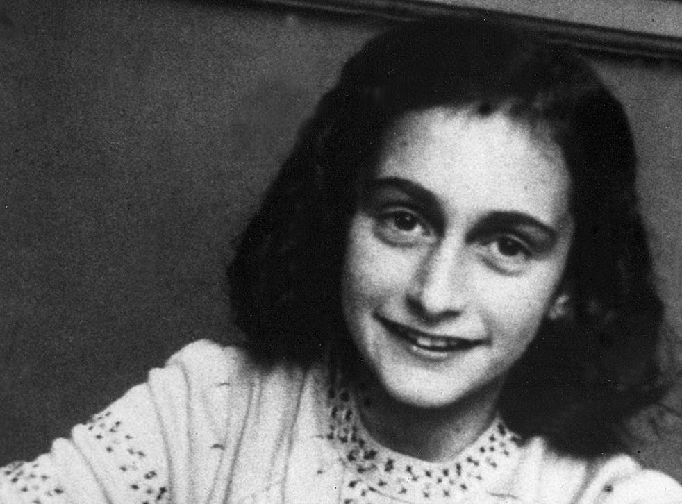Anne Frank became a tragic symbol for all Holocaust victims because of the diary she wrote while in hiding from the Nazis with her family from 1942-1944