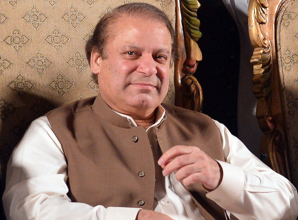 Former Prime Minister Nawaz Sharif vowed that he would not tolerate drone attacks on Pakistani soil