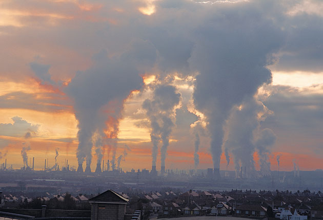 The concentration of carbon dioxide in the atmosphere has breached 400ppm for the first time in 5 million years