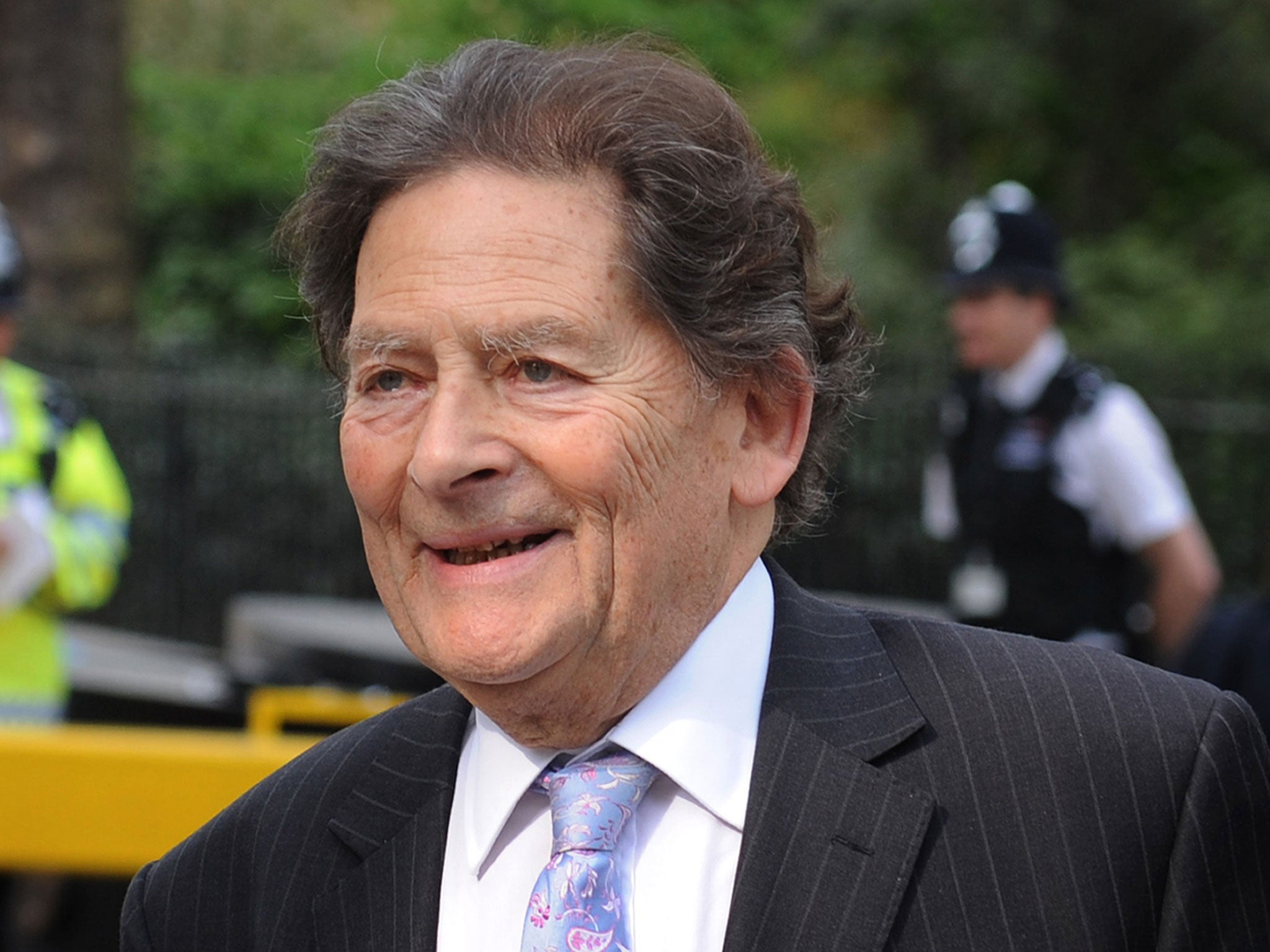 Britain's leading climate change sceptic Nigel Lawson says global warming is real