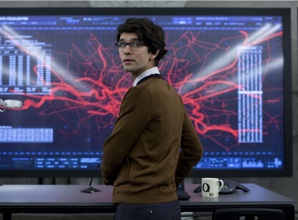 Ben Whishaw as the spy boffin Q in the Bond film 'Skyfall'