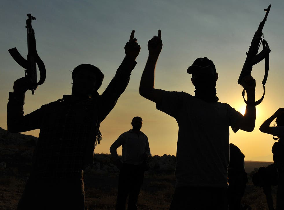 The Syrian rebels are drawing recruits from a variety of national backgrounds