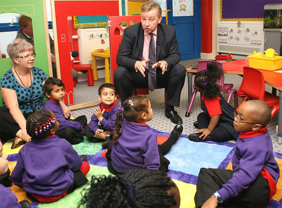 Michael Gove sought to criticise teaching standards