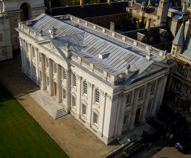 The results boards have been displaying students' grades outside Senate House for hundreds of years