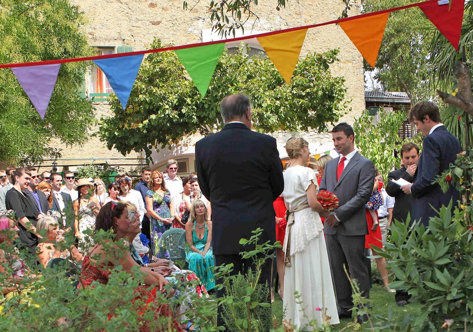 Proposal To Legalise Outdoor Weddings Legislation Ending