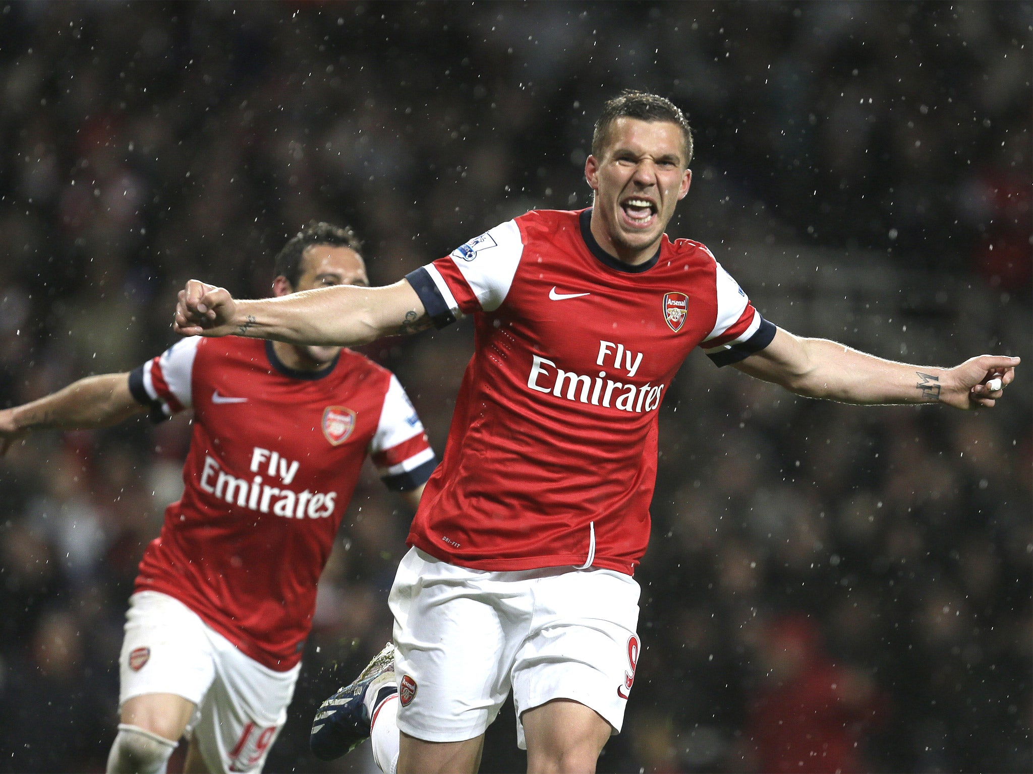 Lukas Podolski puts Arsenal ahead of personal glory | The ...