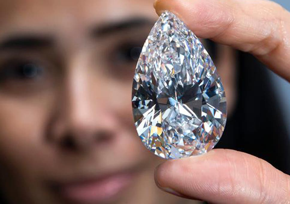 5d4ce9f043f52 101.73-carat gem: Largest flawless diamond ever auctioned could ...