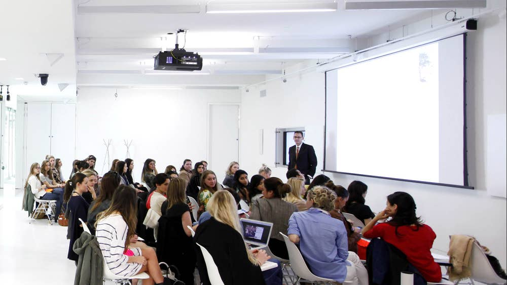 The Absolutely Fabulous School Of Fashion The Publisher Of Vogue Now Has Its Own College The Independent