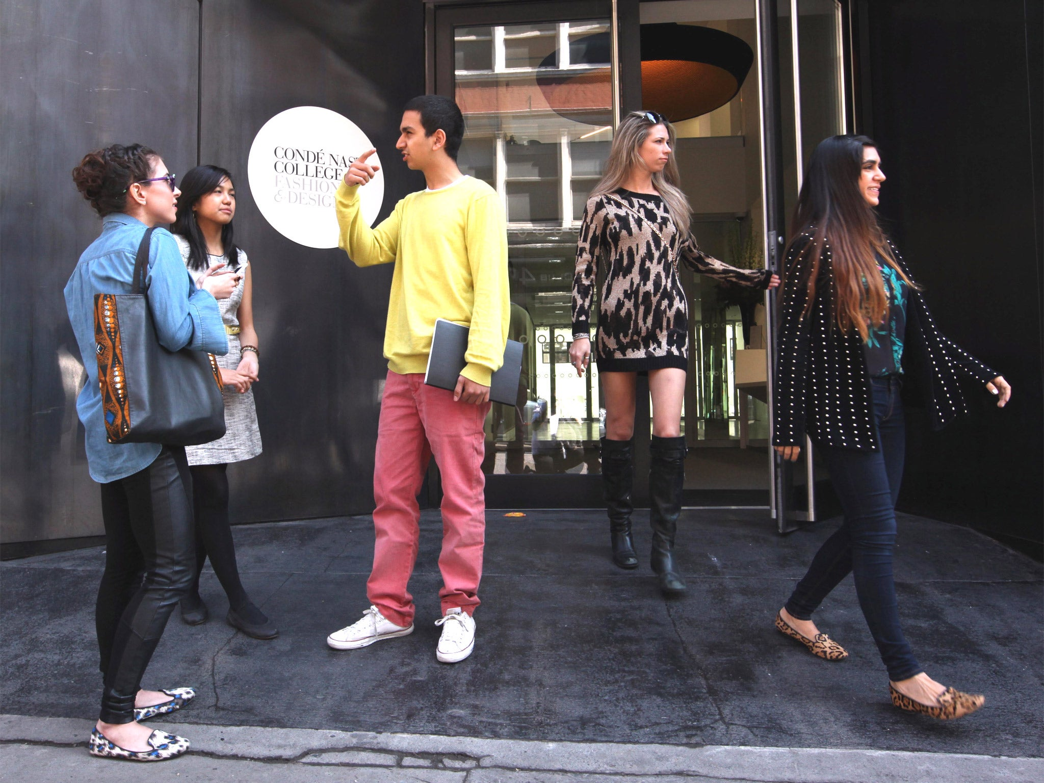 Watch - Nast conde to launch a fashion college video