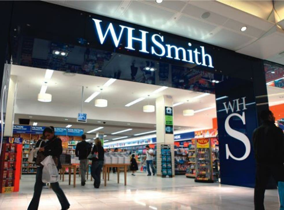 WH Smith has taken its website down after being involved in a porn e-book scandal