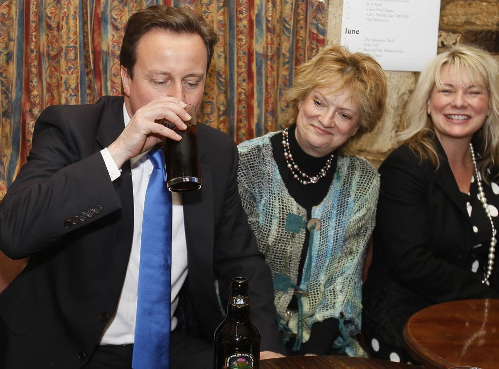 David Cameron is at the centre of a row between his party and the public.