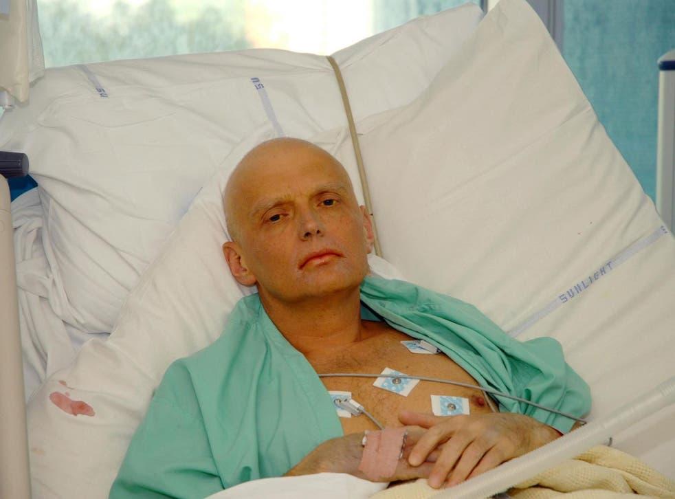 Alexander Litvinenko: The former KGB agent died from polonium-210 poisoning in 2006