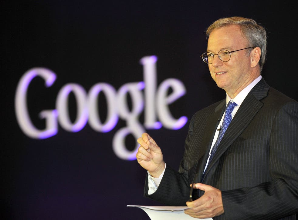 Questions: Eric Schmidt is lying low after the PAC branded his firm 'devious'